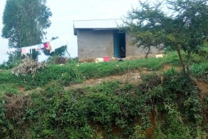 The Water Project: Mukhuyu Community, Kwawanzala Spring -  A Typical Household