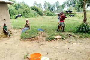 The Water Project: Mukhuyu Community, Kwakhalakayi Spring -  Household