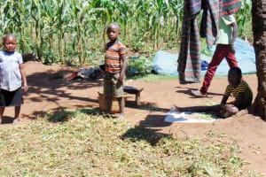 The Water Project: Ibinzo Community, Lucia Spring -  Community Children