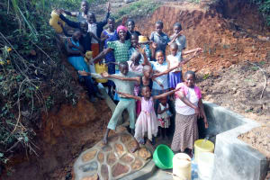 The Water Project: Mungakha Community, Asena Spring -  Flowing Water