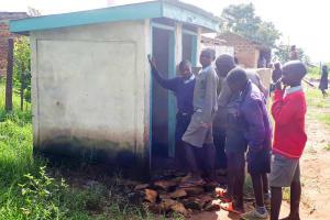 The Water Project: Namakoye Primary School -  Crowded Latrines