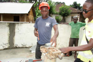 The Water Project: Pewullay Church of God Primary School -  Pump Installation