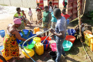 The Water Project: United Brethren Academy Secondary School -  Flushing