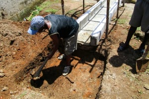 The Water Project: United Brethren Academy Secondary School -  Drainage Construction