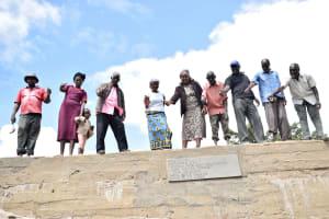 The Water Project: Mitini Community B -  Sand Dam
