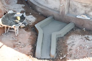 The Water Project: AIC Mbau Secondary School -  Tank Construction