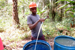 The Water Project: Roloko Community -  Yield Test