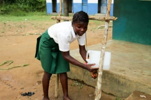 The Water Project: DEC Komrabai Primary School -  Haja Kabbah