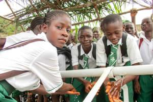 The Water Project: United Brethren Academy Secondary School -  Handwashing Attachment