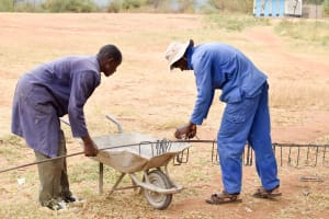 The Water Project: Kithoni Secondary School -  Tank Construction