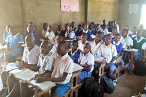 The Water Project: Lwakhupa Primary School -  Students In Class