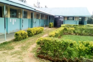 The Water Project: Musango Mixed Secondary School -  Classrooms And Plastic Tank