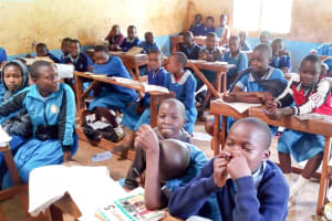 The Water Project: Kegoye Primary School -  Students In Class