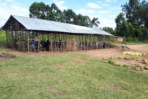 The Water Project: Namakoye Primary School -  Structure Being Used As Classroom