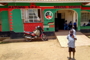 The Water Project: Matungu SDA Special School -  Student Says Hello