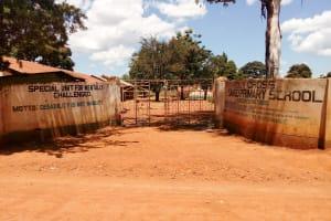 The Water Project: Sango Primary School -  School Gate