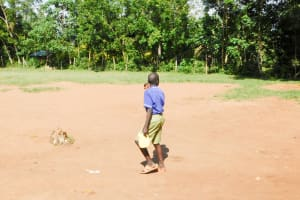 The Water Project: Eshiakhulo Primary School -  Carrying Water