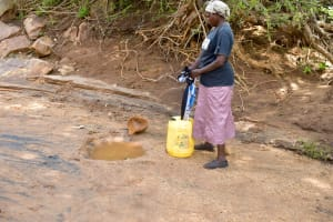The Water Project: Ndithi Primary School -  Current Water Source