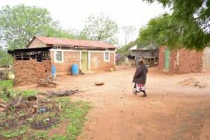 The Water Project: Kathamba Ngii Community A -  Kimwele Household