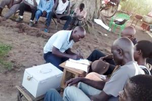 The Water Project: Alimugonza Community B -  Training