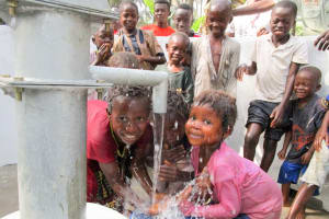 The Water Project: Roloko Community -  Clean Water Flowing