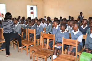 The Water Project: AIC Mbau Secondary School -  Training