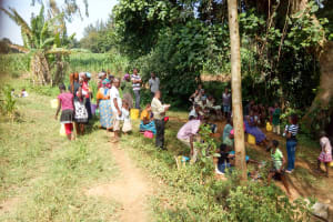 The Water Project: Mungakha Community, Asena Spring -  Training