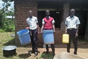 The Water Project: Lwakhupa Mixed Secondary School -  Containers Used For Fetching Water