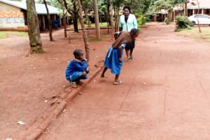 The Water Project: Kegoye Primary School -  Students Play