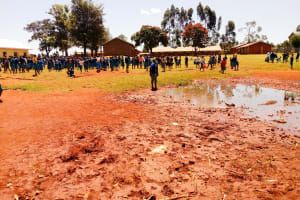 The Water Project: Sango Primary School -  Students On School Grounds