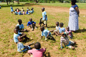 The Water Project: Mabanga Primary School -  Early Childhood Class