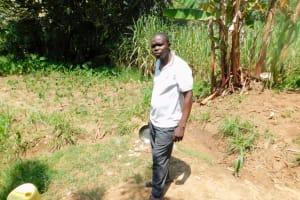 The Water Project: Emukoyani Community, Ombalasi Spring -  Bornface