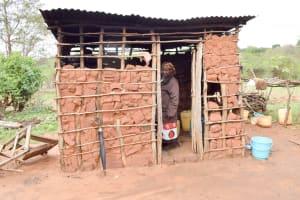 The Water Project: Kathamba Ngii Community A -  Kitchen