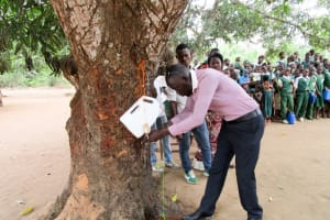The Water Project: DEC Mathem Primary School -  Handwashing Training