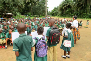 The Water Project: DEC Komrabai Primary School -  Good And Bad Hygiene
