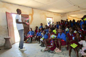 The Water Project: Pewullay Church of God Primary School -  Training