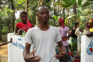 The Water Project: Roloko Community -  Kamara