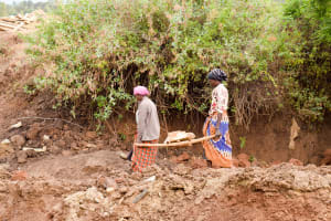 The Water Project: Kaliani Community A -  Well Construction