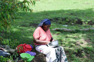The Water Project: Mitini Community C -  Taking A Break
