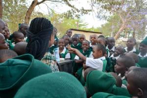 The Water Project: Kitooni Primary School -  Handwashing Training