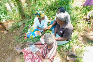 The Water Project: Mungakha Community, Nyanje Spring -  Training