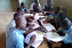 The Water Project: Khabukoshe Primary School -  Group Study
