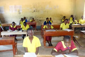 The Water Project: Shibinga Primary School -  Students In Class