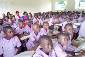 The Water Project: Mayoni Township Primary School -  Students In Class