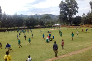 The Water Project: Koitabut Primary School -  Students Playing Outside
