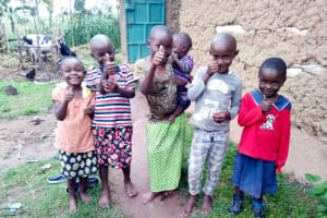 The Water Project: Bukhakunga Community, Ngovilo Spring -  Community Children