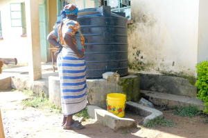The Water Project: Eshiakhulo Primary School -  Liter Plastic Tank For Cooking And Drinking