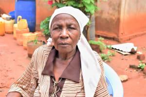 The Water Project: Muluti Community A -  Water User Lydia Ndilo Kavila