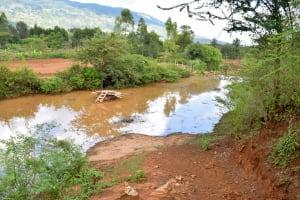 The Water Project: Kaliani Community A -  Well Progress