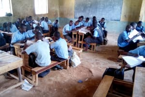 The Water Project: Khabukoshe Primary School -  Students In Class